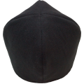 Скуфья мужская  Ткань (полиэстер + х\б), без бортика  Цвет: чёрный