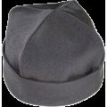 Скуфья мужская облегчённая  Ткань (полиэстер + х\б), Бортик - ткань Цвет: чёрный