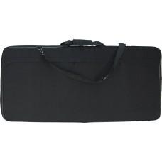 Сумка жёсткая для облачения (ткань), цвет черный (h-45см, d-95см, v-4см)